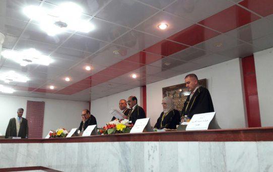مناقشة طالب الدكتوراه علي ناصر جابر